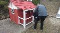 Aufbau Spielehaus