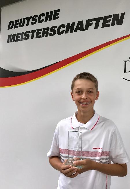 Deutscher Doppel-Vizemeister U13